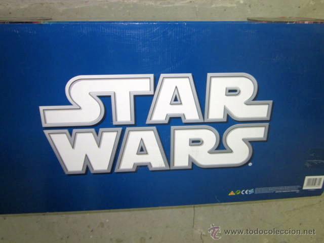 Figuras y Muñecos Star Wars: GRAN CAJA DIORAMA STARWARS VACIA - SET EXCLUSIVO, CAJA EXPOSITORA TIPO DIORAMA - Foto 6 - 46110449