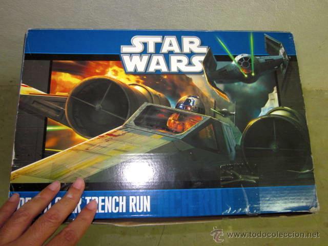 Figuras y Muñecos Star Wars: GRAN CAJA DIORAMA STARWARS VACIA - SET EXCLUSIVO, CAJA EXPOSITORA TIPO DIORAMA - Foto 7 - 46110449