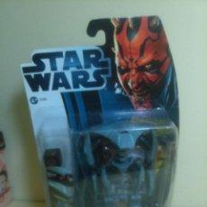 Figuras y Muñecos Star Wars: FIGURA STAR WARS AQUA DROID HASBRO CLONE WARS EN BLISTER. Lote 46724011