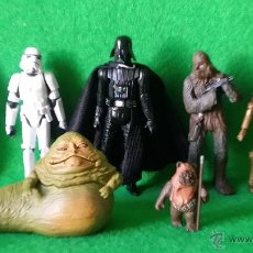 Figuras y Muñecos Star Wars: LOTE DE FIGURAS DE STAR WARS DE LFL. Lote 47192260