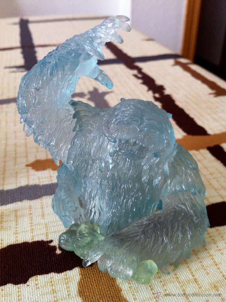 Figuras y Muñecos Star Wars: Mini busto de Gentle Giant de la bestia WAMPA del planeta Hoth con aspecto helado. Impecable. - Foto 3 - 47379345