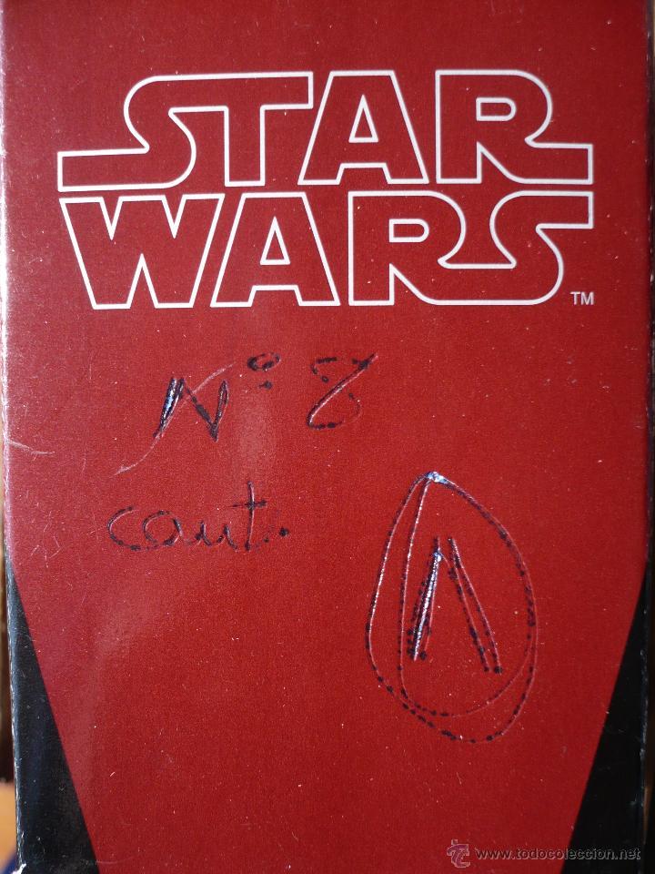 Figuras y Muñecos Star Wars: Figura plomo ajedrez STAR WARS . Producto oficial Lucasfilms . Comando rebelde . Peón blanco.2011. - Foto 5 - 47640409
