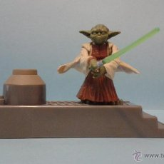Figuras e Bonecos Star Wars: FIGURA YODA PEANA SALTO.. Lote 48203405