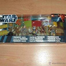 Figuras y Muñecos Star Wars: STAR WARS PHANTOM MENACE : PODRACER PILOTS. HASBRO. A ESTRENAR EN BLISTER. Lote 48297639
