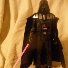 Figuras y Muñecos Star Wars: ESPECTACULAR MUÑECO STAR WARS.ANAKIN-DART VADER.2 EN 1.CON LUZ Y FRASES.DE HASBRO.. Lote 245721755