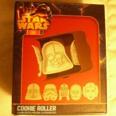 Figuras y Muñecos Star Wars: STAR WARS COOKIE ROLLER. DISPOSITIVO GIRATORIO MOLDE PARA GALLETAS. Lote 48326980