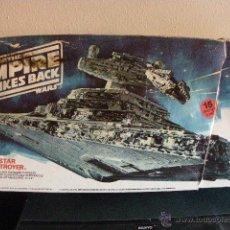 Figuras y Muñecos Star Wars: NAVE DESTRUCTOR IMPERIAL DE LAS GUERRAS GALAXIAS DE LA CASA MPC 1989. Lote 48479642