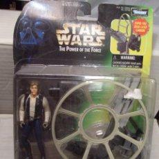 Figuras y Muñecos Star Wars: STAR WARS HASBRO HAN SOLO GUN STATION DE LUXE. Lote 48539834