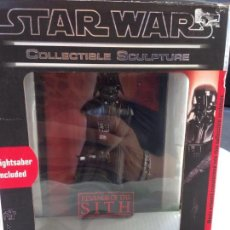 Figuras y Muñecos Star Wars: STAR WARS REVENGE OF THE SITH COLLECTIBLE SCULPTURE. Lote 49702586