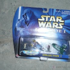 Figuras y Muñecos Star Wars: STAR WARS EPISODE I MICROMACHINES COLLECTION I. Lote 49842413