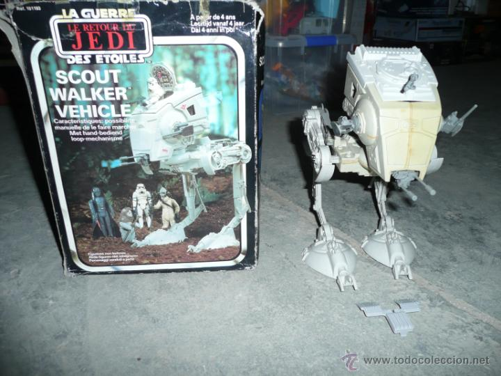 STAR WARS RETURN OF THE JEDI SCOUT WALKER VEHICLE (Juguetes - Figuras de Acción - Star Wars)