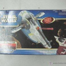 Figuras y Muñecos Star Wars: STAR WARS THE EL ATAQUE DE LOS CLONES NAVE SLAVE I DEL AÑO 2002. Lote 49862202