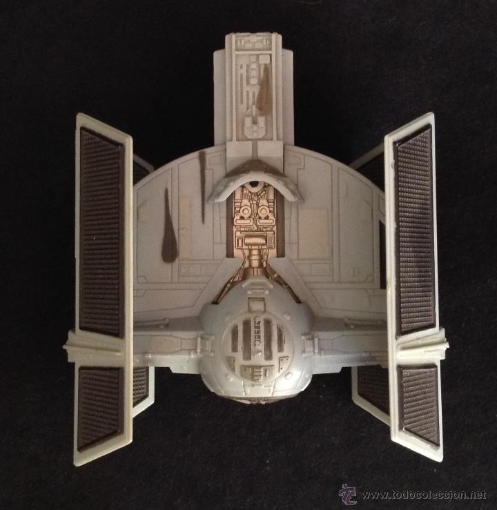 Figuras y Muñecos Star Wars: nave star wars micro machines action fleet darth vader tie fighter de 1996 micromachines - Foto 3 - 49889165