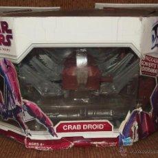 Figuras y Muñecos Star Wars: CRAB DROID,STAR WARS,HASBRO,CAJA ORIGINAL,2009,A ESTRENAR. Lote 50232166