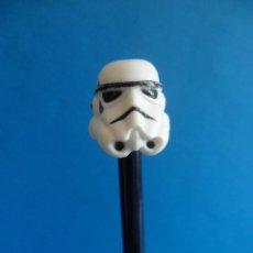Figuras y Muñecos Star Wars: CAPUCHÓN DE LAPIZ STAR WARS - CASCO DE STORMTROOPER - LUCASFILM - SOLDADO IMPERIAL. Lote 50704534