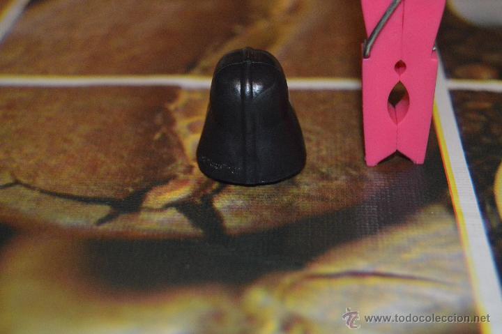 Figuras y Muñecos Star Wars: cabeza de darth vader para lapiz star wars la guerra de las galaxias - Foto 2 - 51700467