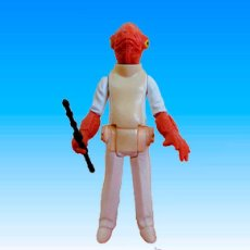 Figuras y Muñecos Star Wars: FIGURA STAR WARS KENNER 'ADMIRAL ACKBAR', 10 CM, AÑO 1982, VINTAGE.. Lote 52343349