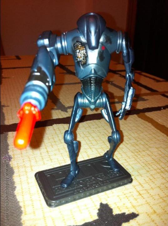 Figuras y Muñecos Star Wars: Super Droide de Combate de la Federación de Comercio. Con proyectil y pecho dañado añadido. - Foto 2 - 52347180