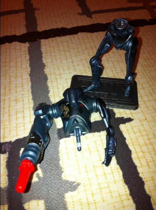 Figuras y Muñecos Star Wars: Super Droide de Combate de la Federación de Comercio. Con proyectil y pecho dañado añadido. - Foto 4 - 52347180