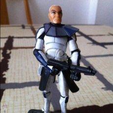 Figuras y Muñecos Star Wars: COMANDANTE CLON DE LA SERIE CLONE WARS. JUGADO POR MI HIJO.. Lote 52378337