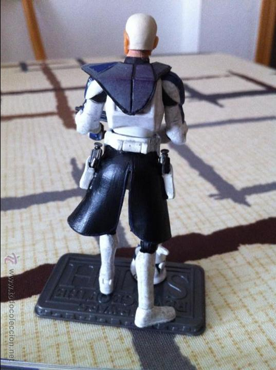 Figuras y Muñecos Star Wars: Comandante Clon de la serie Clone Wars. Jugado por mi hijo. - Foto 3 - 52378337