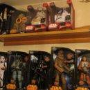 Figuras y Muñecos Star Wars: COLECCIÓN DE FIGURAS STAR WARS CON VOZ, ARTICULADAS, GRAN TAMAÑO. DISNEY / VADER, YODA, BOBA FETT... Lote 52639399