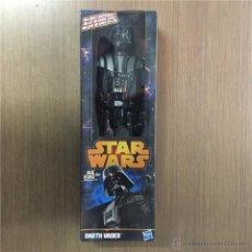 Figuras y Muñecos Star Wars: DARTH VADER-EN CAJA ORIGINAL SIN ABRIR-30 CM-HASBRO 2013-ENCONTRADO EN JUGUETERIA-STAR WARS. Lote 52942782