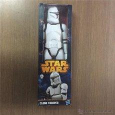 Figuras y Muñecos Star Wars: CLONE TROOPER-30 CM-EN CAJA ORIGINAL SIN ABRIR-HASBRO 2013-ENCONTRADO EN JUGUETERIA-STAR WARS. Lote 52942831