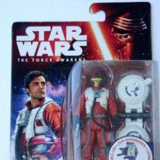 Figuras y Muñecos Star Wars: STAR WARS FORCE AWAKENS DESPERTAR DE LA FUERZA FIGURA FIGURE POE DAMERON KYLO . Lote 53050178