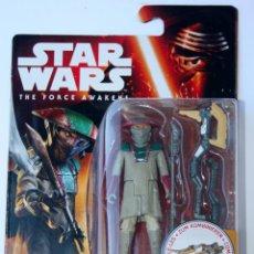 Figuras y Muñecos Star Wars: STAR WARS FORCE AWAKENS DESPERTAR DE LA FUERZA FIGURA FIGURE CONSTABLE ZUVIO REN. Lote 53050246