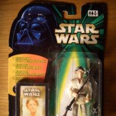 Figuras y Muñecos Star Wars: STAR WARS LUKE SKYWALKER TATOOINE - POWER OF THE FORCE - 1998. Lote 53274943