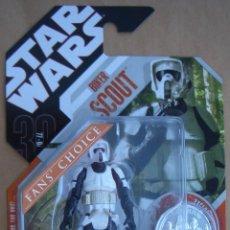 Figuras y Muñecos Star Wars: STAR WARS BIKER SCOUT SAGA LEGENDS FAN'S CHOICE. Lote 53275195