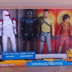 Figuras y Muñecos Star Wars: STAR WARS REBELS CAJA DE SEIS PERSONAJES. Lote 53287446