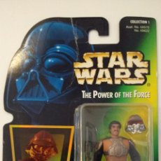Figuras y Muñecos Star Wars: STAR WARS POWER OF THE FORCE COLLECTION 1: LANDO CALRISSIAN AS SKIFF GUARD (KENNER-HASBRO,1996). Lote 53449776