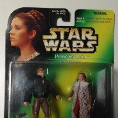 Figuras y Muñecos Star Wars: STAR WARS PRINCESS LEIA COLLECTION: PRINCESS LEIA AND HAN SOLO (KENNER-HASBRO,1997). Lote 53488793