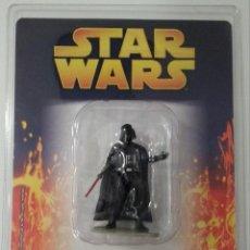 Figuras y Muñecos Star Wars: STAR WARS FIGURAS DE PLOMO # 1 - DARTH VADER (PLANETA DE AGOSTINI,2005) - CON FASCICULO INCLUIDO. Lote 53488951