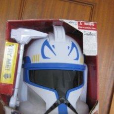 Figuras y Muñecos Star Wars: UNICO! CASCO CAPITAN REX STARS TROOPERS STAR WARS LA GUERRA DE LOS CLONES 2009 LUCASFILM. Lote 53624325