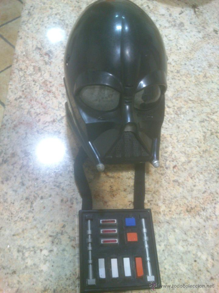 CASCO MASCARA DARTH VADER STAR WARS LUCAS FILM-HASBRO (Juguetes - Figuras de Acción - Star Wars)