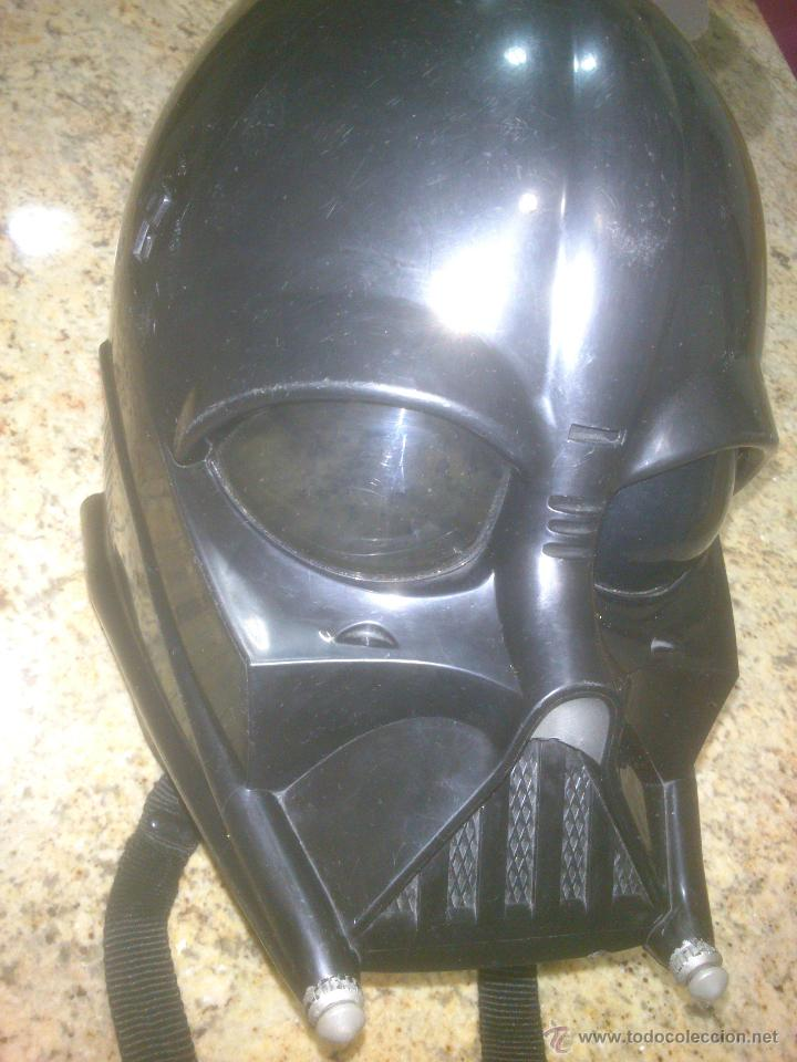 Figuras y Muñecos Star Wars: CASCO MASCARA DARTH VADER STAR WARS LUCAS FILM-HASBRO - Foto 2 - 53716449