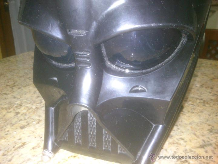 Figuras y Muñecos Star Wars: CASCO MASCARA DARTH VADER STAR WARS LUCAS FILM-HASBRO - Foto 4 - 53716449