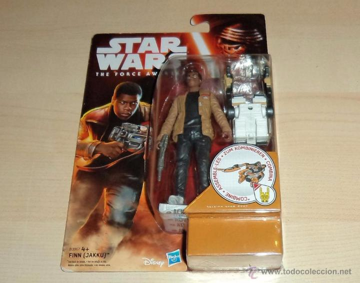 STAR WARS THE FORCE AWAKENS : FINN (JAKKU). HASBRO. A ESTRENAR EN BLISTER (Juguetes - Figuras de Acción - Star Wars)