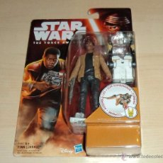 Figuras y Muñecos Star Wars: STAR WARS THE FORCE AWAKENS : FINN (JAKKU). HASBRO. A ESTRENAR EN BLISTER. Lote 53805493