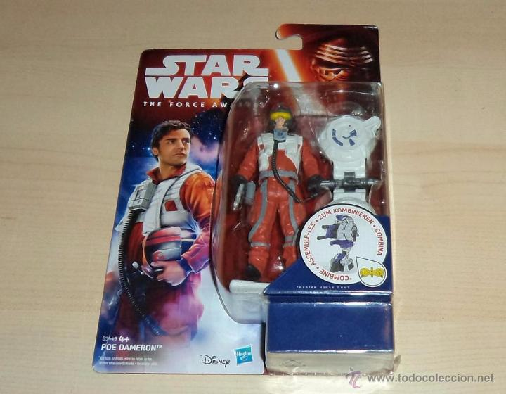 STAR WARS THE FORCE AWAKENS : POE DAMERON. HASBRO. A ESTRENAR EN BLISTER (Juguetes - Figuras de Acción - Star Wars)