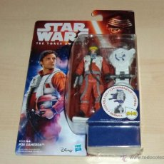 Figuras y Muñecos Star Wars: STAR WARS THE FORCE AWAKENS : POE DAMERON. HASBRO. A ESTRENAR EN BLISTER. Lote 162916201