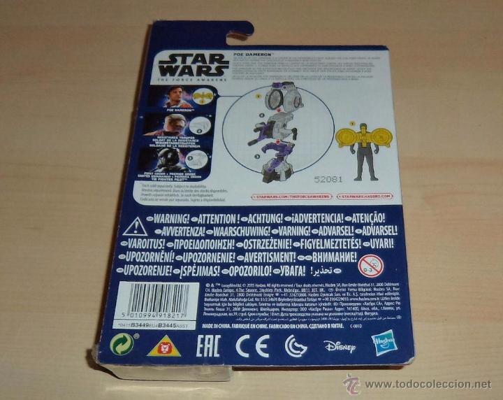 Figuras y Muñecos Star Wars: Star Wars The Force Awakens : Poe Dameron. Hasbro. a estrenar en blister - Foto 2 - 162916201
