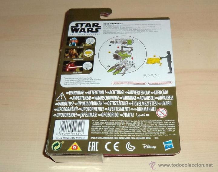 Figuras y Muñecos Star Wars: Star Wars The Force Awakens : Goss Toowers. Hasbro. a estrenar en blister - Foto 2 - 53805523