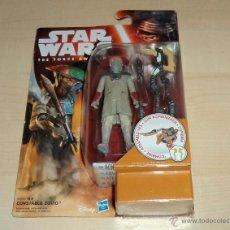 Figuras y Muñecos Star Wars: STAR WARS THE FORCE AWAKENS : CONSTABLE ZUVIO. HASBRO. A ESTRENAR EN BLISTER. Lote 53805590