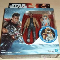 Figuras y Muñecos Star Wars: STAR WARS THE FORCE AWAKENS : FINN (ARMOUR UP). HASBRO. A ESTRENAR EN BLISTER. Lote 70541858