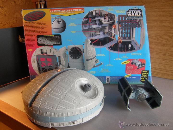 STAR WARS. ESTRELLA DE LA MUERTE DE MICROMACHINES (Juguetes - Figuras de Acción - Star Wars)