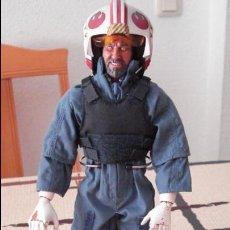 Figuren von Star Wars - STAR WARS. Custom de piloto Rebelde. Figura articulada de escala 1/6. Articulaciones duras. - 53838832